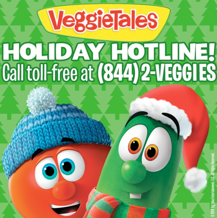 Veggie Tales In the House, new on netflix! Plus call the Veggie Tales Holiday Hotline! #veggietales #netflix