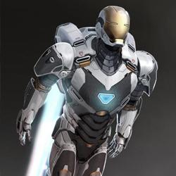 Deep Space Suit Iron Man 3