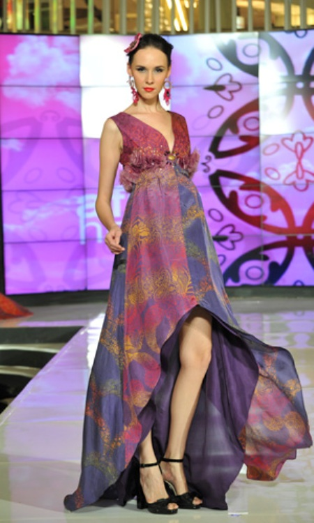 Alleira Batik Collection at Fashion Nation 2012