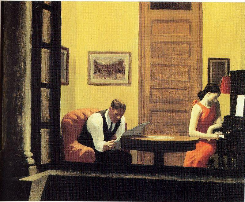 Reading and Art: Edward Hopper