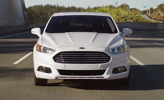 Novo Ford Fusion 2015 branco sedan