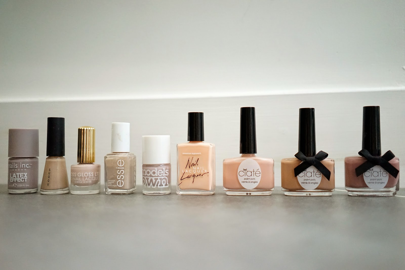 nude nail varnish