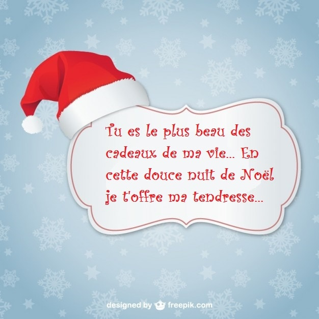 Top SMS d'amour 2018 - SMS d'amour message: Beaux Textes de Vœux pour Noël OR58