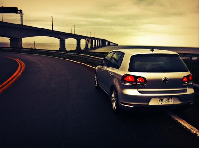 2013 Volkswagen Golf TDI Wolfsburg Confederation Bridge