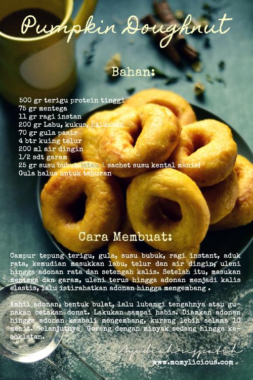 Pumpkin Doughnut's Recipe