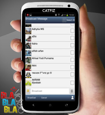 Gambar Catfiz Aplikasi BBM untuk Android