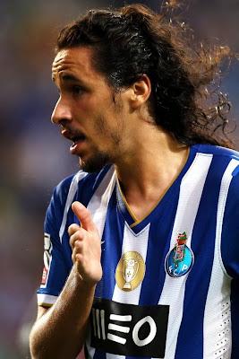 Luis Franco Bastos e o carocho do Licá que joga no FC Porto