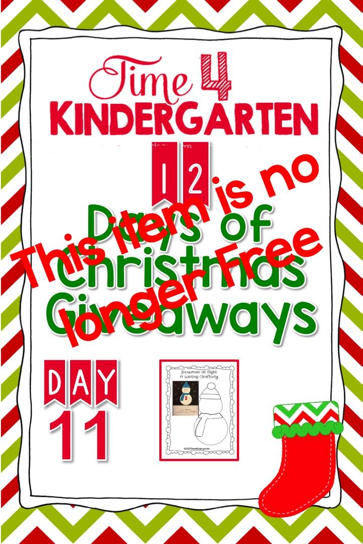 time 4 kindergarten 12 days of giveaways day 11. Black Bedroom Furniture Sets. Home Design Ideas
