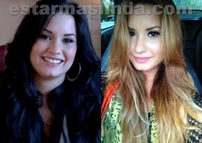 demi lovato antes y despues