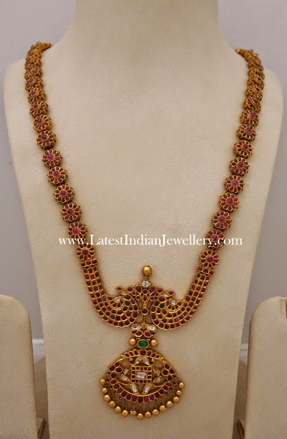 Indian Gold Ruby Haram