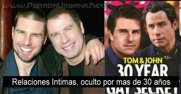 NOTICIA INSÓLITA - Tom Cruise y John Travolta, 30 años de romance oculto y ahora sale a la luz