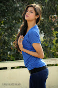 Sneha Tagore Photo shoot in Blue-thumbnail-4