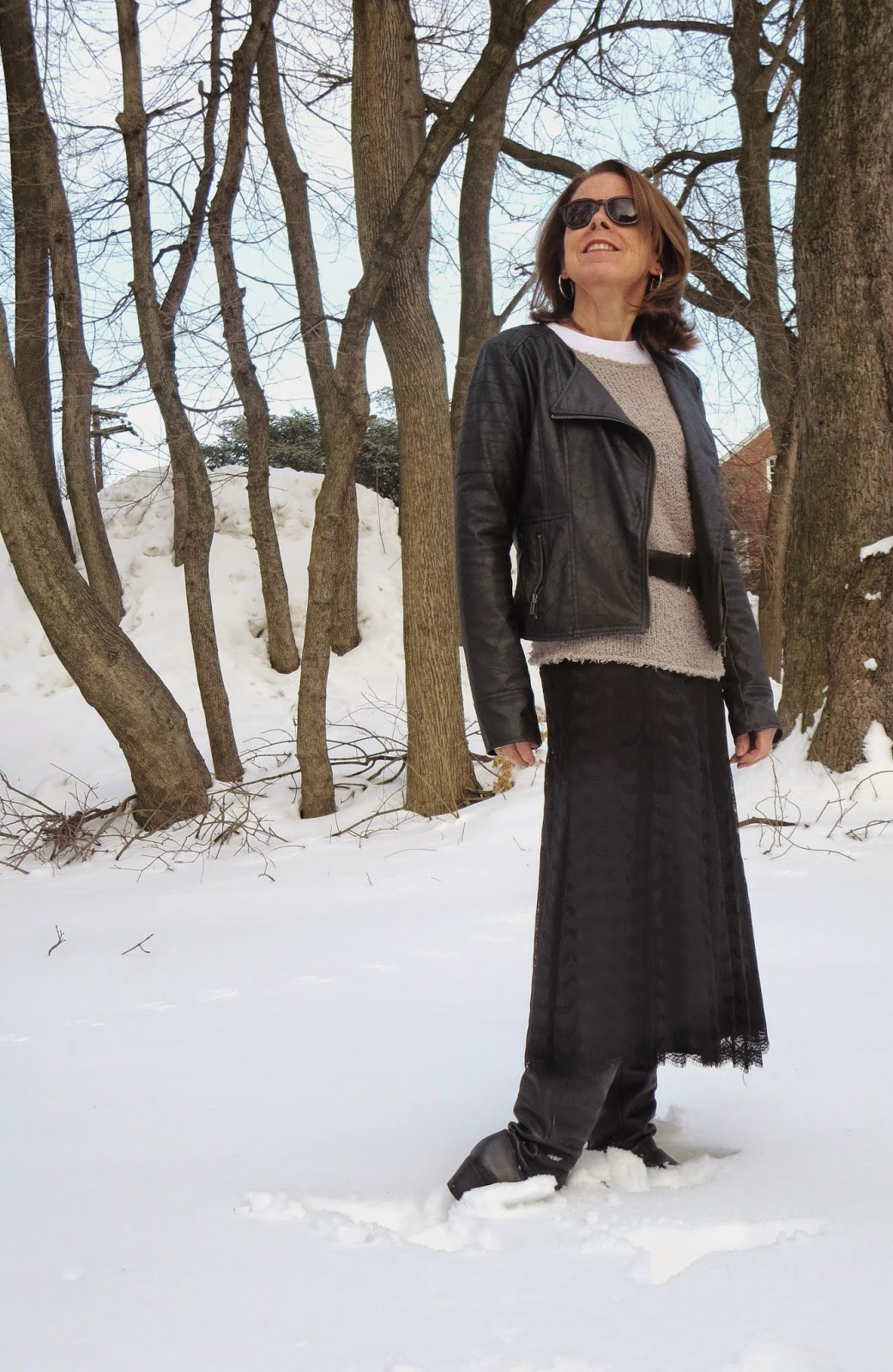Textured separates look for women over 50