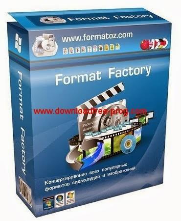 تحميل برنامج Format Factory 3.3.1.0 محول صيغ الفيديو والصوت