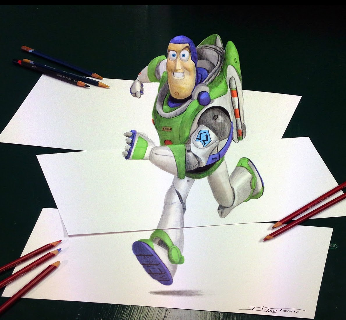 14-Buzz-Lightyear-Anamorphic-Dino-Tomic-AtomiccircuS-Mastering-Art-in-Eclectic-Drawings-www-designstack-co