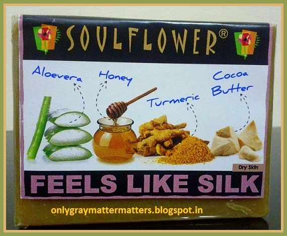 Soulflower Feels Like Silk Soap Review