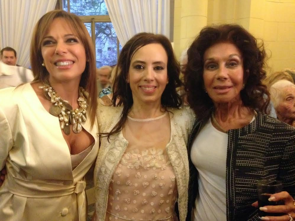 Iliana Calabró, Gabriela Pochinki y Coca Calabró