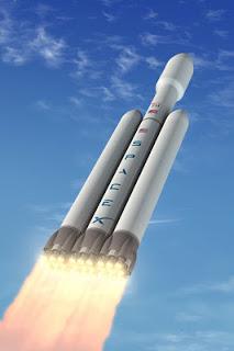 Roket SpaceEx Falcon Heavy