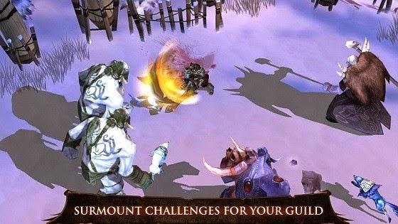لعبة الاكشن والقتال صائد القلاع المحصنه للاندرويد - Dungeon Hunter 4