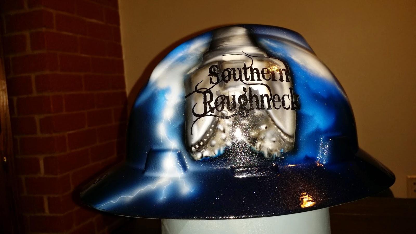 Southern Roughneck drill bit custom hard hat