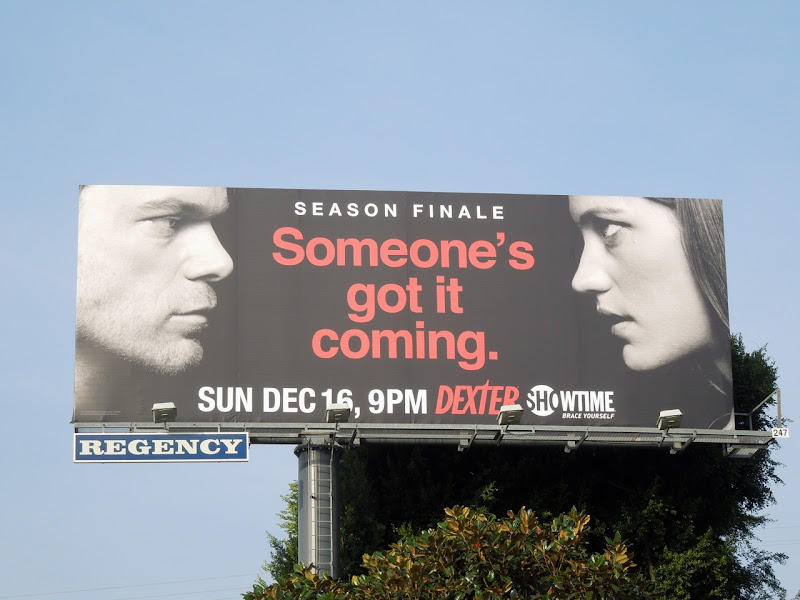 Dexter season 7 finale billboard