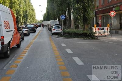 München, Lindwurmstraße - Baustelle