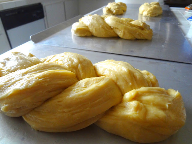 Armenian Easter Bread Choreg