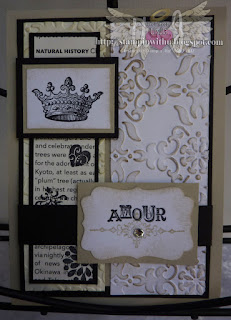 Shabby Chic Amore Card