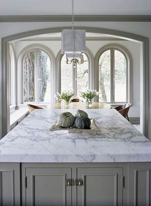 A Gorgeous White Carerra Marble Bar In Todd Englishu0027s Food Plaza..case In  Point, It Works!!?