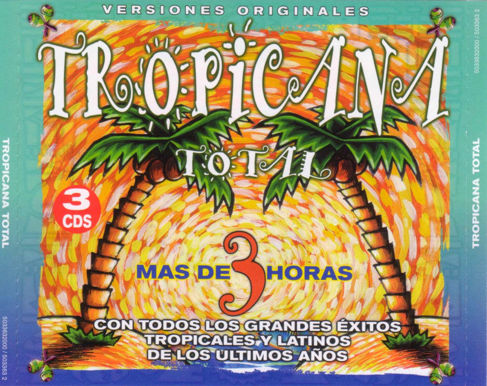 Va tropicana total 3cd el papa de la salsa for Jardin prohibido salsa