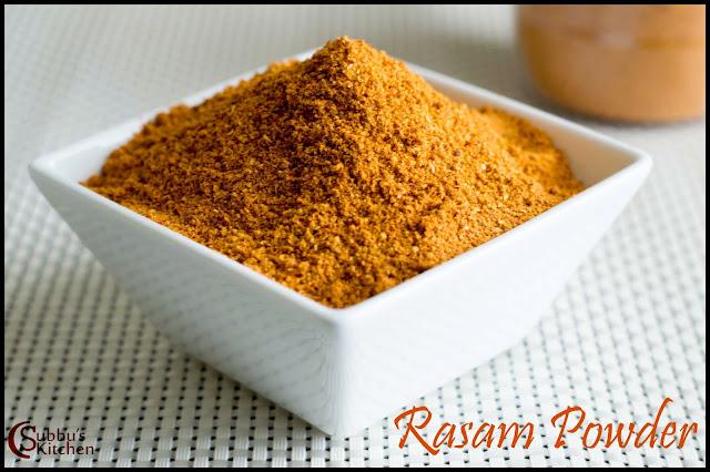 Rasam Powder(Rasam Podi)