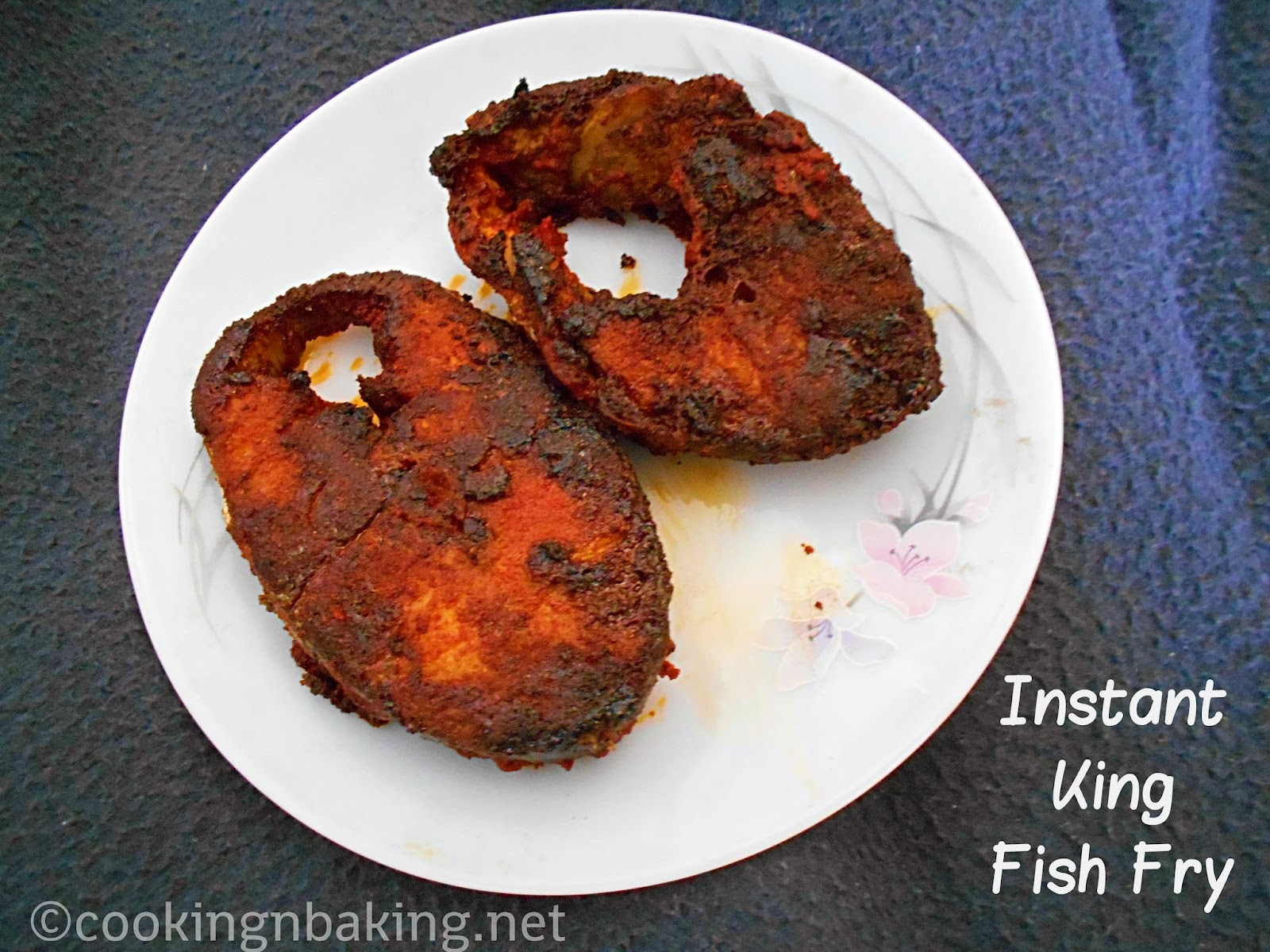 how to make king fish masala fry