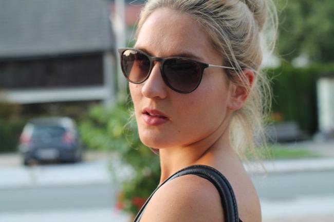 ray ban sonnenbrille für schmales gesicht
