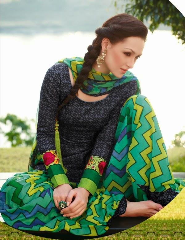 Punjabi suits collection 2014 2015 designer cultural dresses of