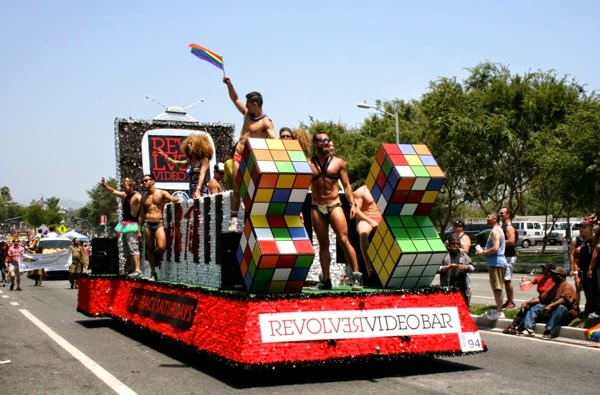 West Hollywood Pride Parade 2014