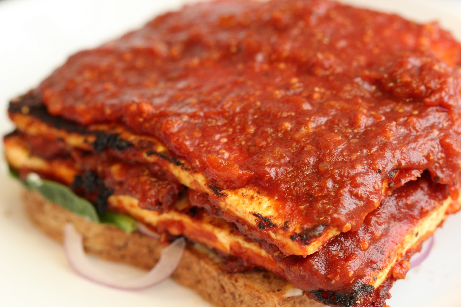 ... : South Carolina Barbecue Tofu Sandwich: A Recipe from Spork Foods