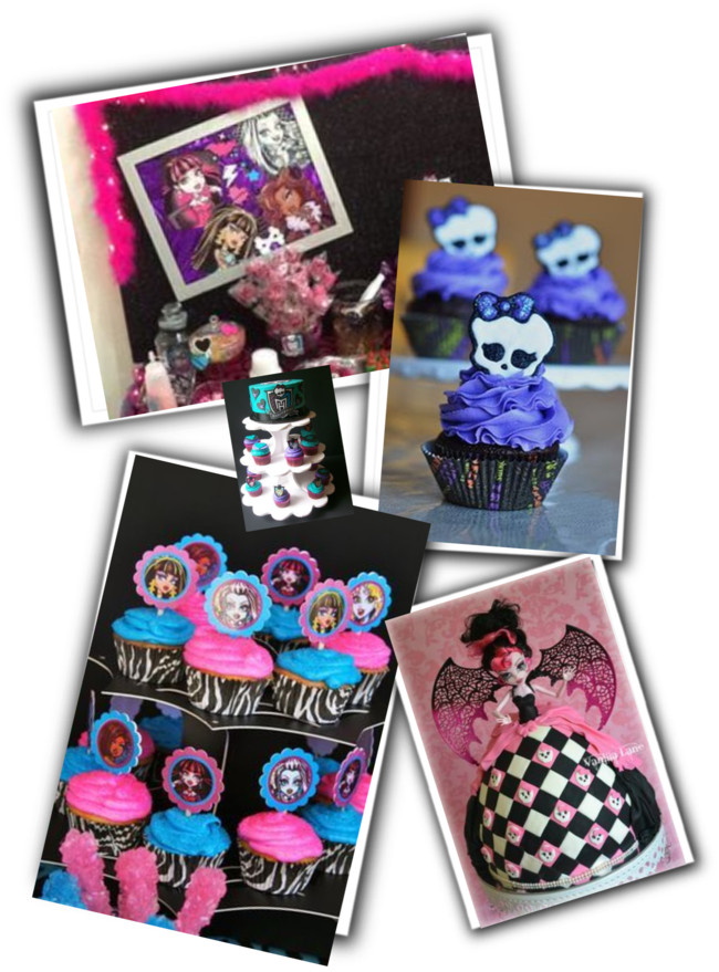 Monster High festa infantil-decoração de festa infantil-aniversário infantil-temas de festa infantil-decoração