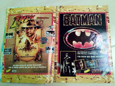 Publicidad Indiana Jones y Batman