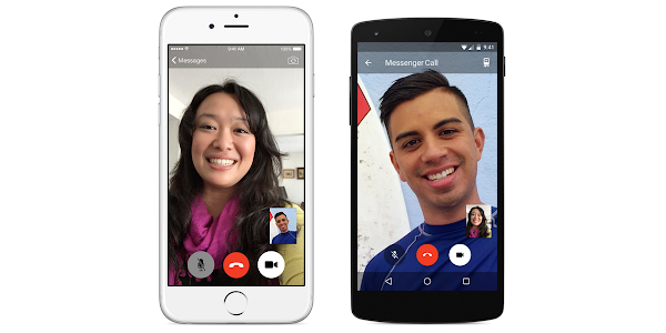 Video call between iOS and Android on Facebook Messenger