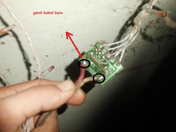 Memperbaiki Lampu Hias Rusak Mati Total Masputz Com