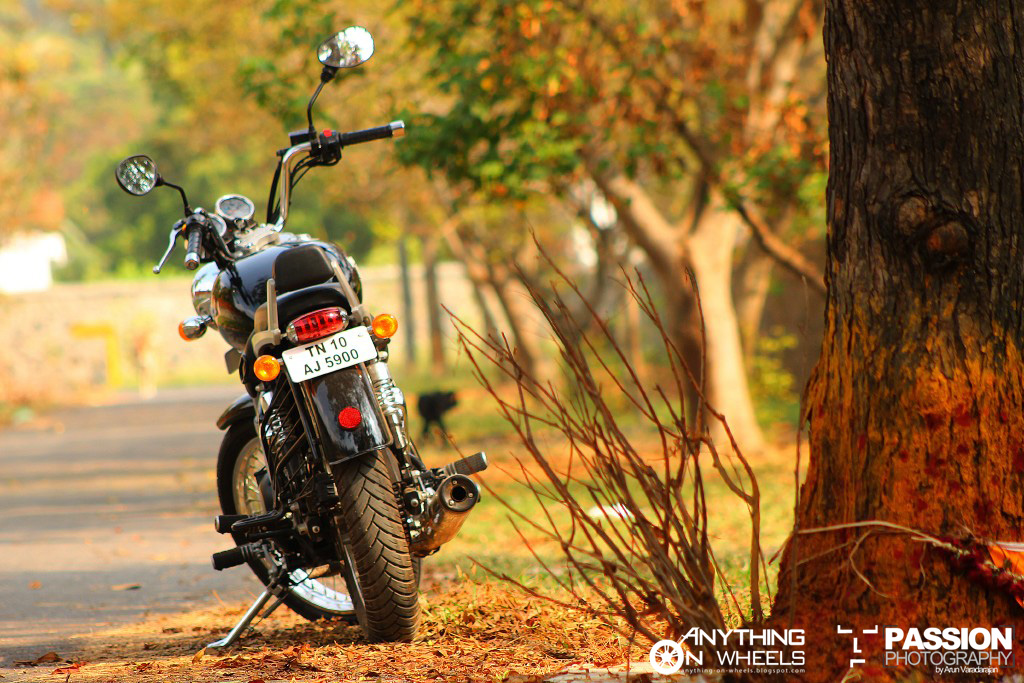 Anything On Wheels Driven 17 2012 Royal Enfield Thunderbird 500
