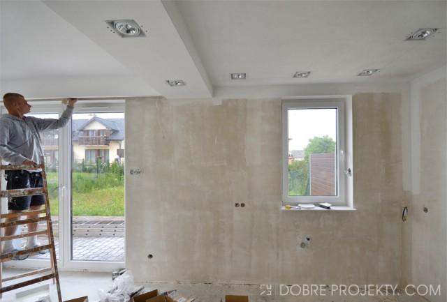 Dobre projekty blog dzisiaj na budowie for Sufit podwieszany w salonie