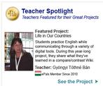 Teacher of the Month 2012 ePlas