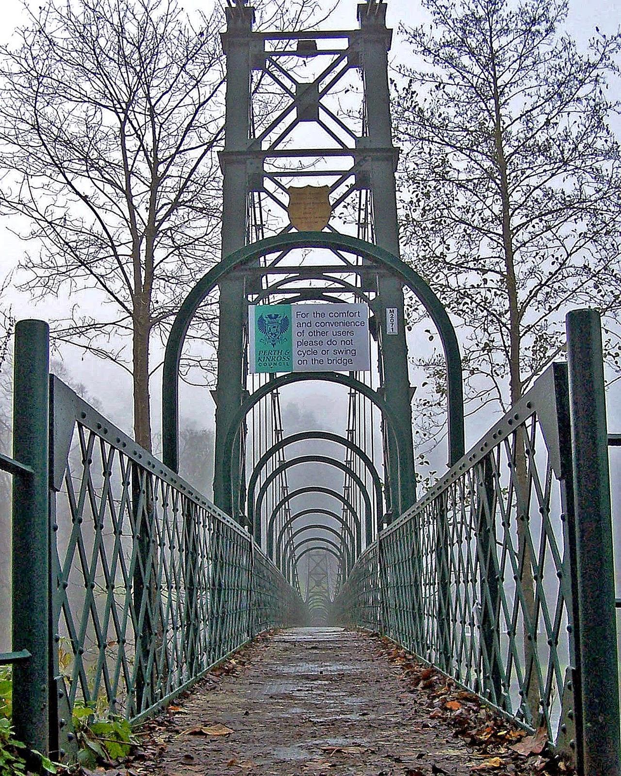 Cluny Bridge Pitlochry Perthshire Scotland