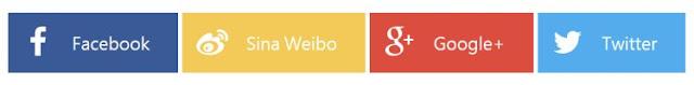flat-social-share-buttons-Blogger 自製社群分享按鈕(扁平化設計) + 動畫效果