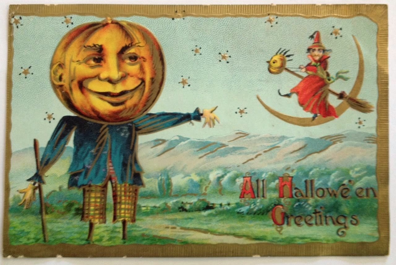 vintage halloween postcards eBay