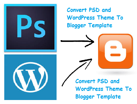 Free Convert PSD And WordPress Theme To Blogger Template - Gadget ...