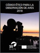 Código Ético del observador de Aves 2018