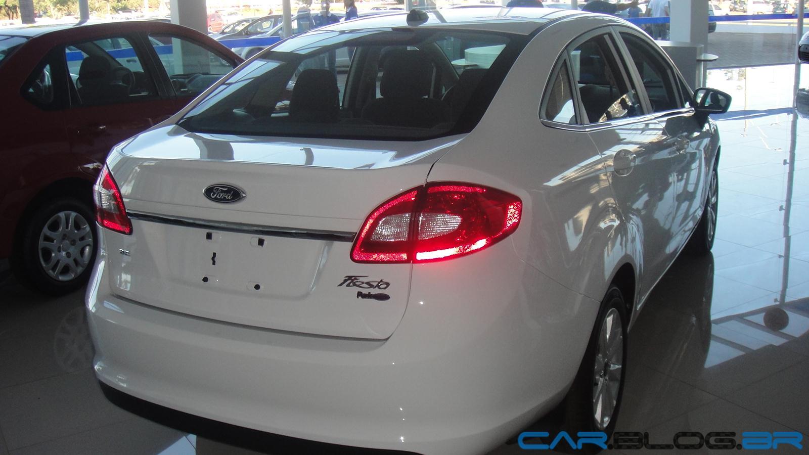 New Fiesta Sedan2013 branco - interior