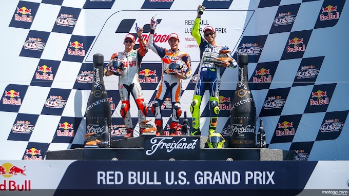 Race MotoGP Laguna Seca 2013, Peristiwa 2008 Terulang Kembali